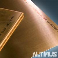 Латунный лист, латунная плита