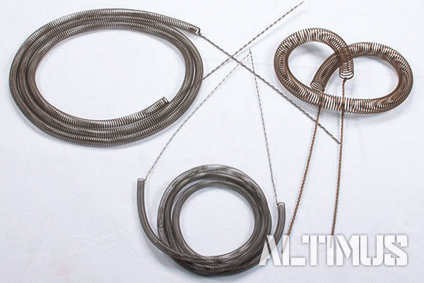 Спирали электронагревателей из проволоки Х23Ю5Т